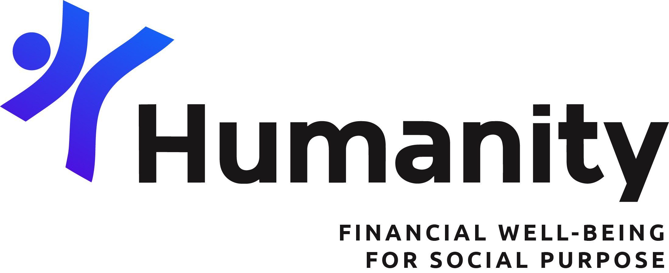 Humanity Financial logo: Financial Well-being for Social Purpose
